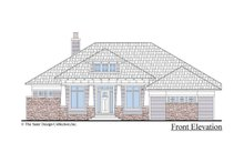 Architectural House Design - Craftsman Exterior - Front Elevation Plan #930-499