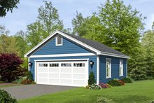 House Plan Design - Country Exterior - Front Elevation Plan #932-116