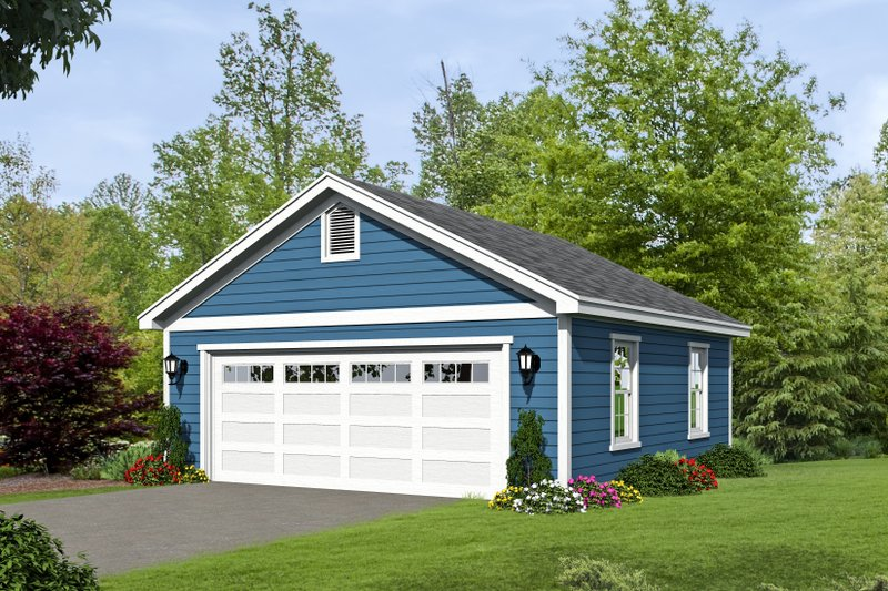 Dream House Plan - Country Exterior - Front Elevation Plan #932-116