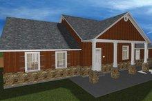 Architectural House Design - Ranch Exterior - Rear Elevation Plan #1060-23