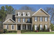 Architectural House Design - Traditional Exterior - Front Elevation Plan #54-334