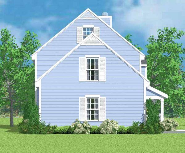 Colonial Floor Plan - Other Floor Plan Plan #72-1088