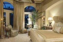 Mediterranean Interior - Master Bedroom Plan #930-418