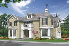 Craftsman Exterior - Front Elevation Plan #132-314