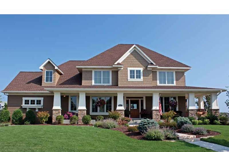 House Design - Country Exterior - Front Elevation Plan #51-1122