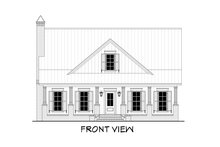 House Plan Design - Farmhouse Exterior - Other Elevation Plan #430-198