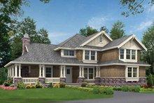 Dream House Plan - Craftsman Exterior - Front Elevation Plan #132-237