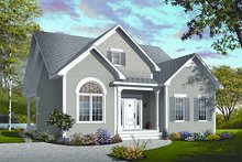 Home Plan - Traditional Exterior - Front Elevation Plan #23-781