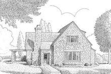 House Design - European Exterior - Front Elevation Plan #410-226
