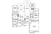 Craftsman Style House Plan - 4 Beds 4 Baths 2966 Sq/Ft Plan #929-988 Floor Plan - Main Floor
