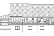 Ranch Exterior - Rear Elevation Plan #1060-6