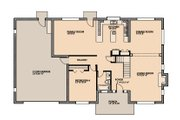 Traditional Style House Plan - 4 Beds 3 Baths 3136 Sq/Ft Plan #515-3 Floor Plan - Main Floor Plan