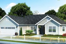 Architectural House Design - Traditional Exterior - Front Elevation Plan #513-2156