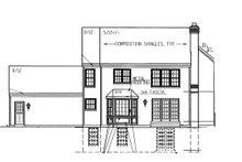 Dream House Plan - Colonial Exterior - Rear Elevation Plan #953-82