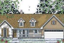 Cottage Exterior - Front Elevation Plan #42-397