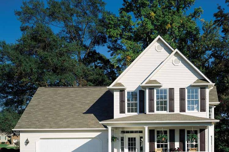 Dream House Plan - Country Exterior - Front Elevation Plan #929-280