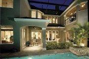 European Style House Plan - 4 Beds 4.5 Baths 5196 Sq/Ft Plan #930-361 Exterior - Rear Elevation