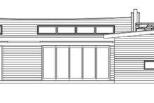 House Design - Contemporary Exterior - Front Elevation Plan #484-12