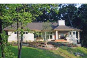Architectural House Design - Prairie Exterior - Front Elevation Plan #928-50