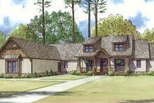 Craftsman Exterior - Front Elevation Plan #17-3407