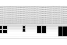 Ranch Exterior - Rear Elevation Plan #943-40