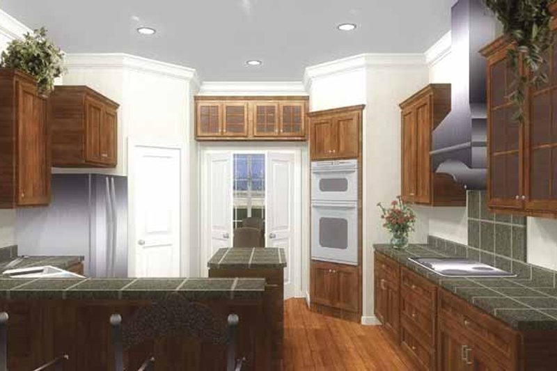 Traditional Interior - Kitchen Plan #44-207 - Houseplans.com
