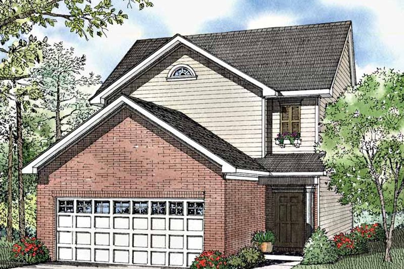 Country Exterior - Front Elevation Plan #17-3062 - Houseplans.com