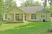Country Style House Plan - 3 Beds 2 Baths 1800 Sq/Ft Plan #456-1 Exterior - Rear Elevation