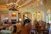 Country Style House Plan - 5 Beds 5 Baths 4038 Sq/Ft Plan #930-472 Interior - Family Room