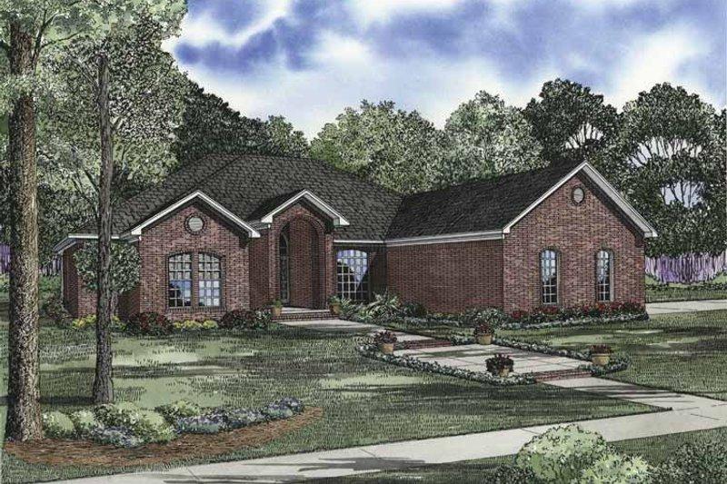 House Plan Design - Ranch Exterior - Front Elevation Plan #17-2842