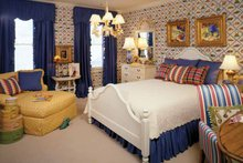 Colonial Interior - Bedroom Plan #429-327