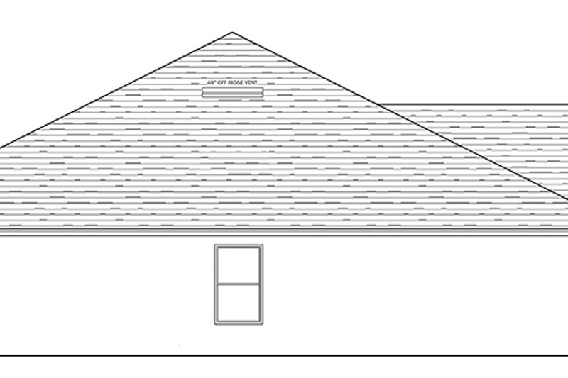 Traditional Exterior - Other Elevation Plan #1058-120 - Houseplans.com
