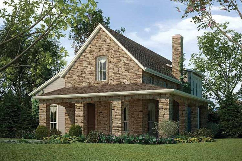 Colonial Exterior - Front Elevation Plan #472-183 - Houseplans.com