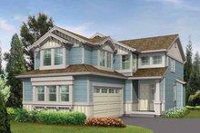 Craftsman Exterior - Front Elevation Plan #132-292