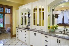 Home Plan - Master Bathroom - 4000 square foot European home