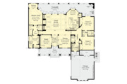 Craftsman Style House Plan - 3 Beds 2 Baths 2250 Sq/Ft Plan #930-499 Floor Plan - Main Floor