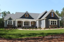 Home Plan Design - Craftsman Exterior - Front Elevation Plan #929-1025