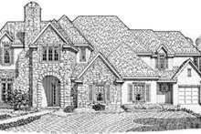 Dream House Plan - European Exterior - Front Elevation Plan #410-261