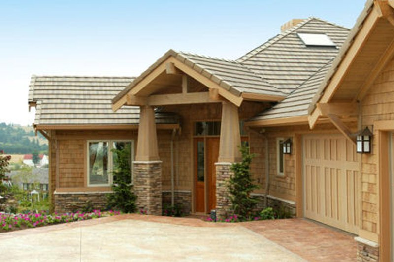 Craftsman Exterior - Other Elevation Plan #48-432 - Houseplans.com