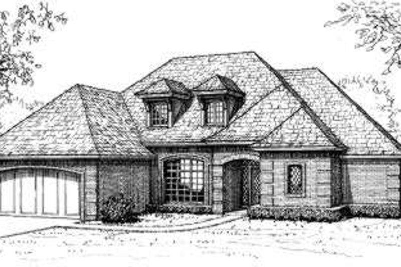House Design - European Exterior - Front Elevation Plan #310-186