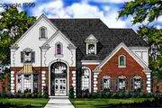 European Style House Plan - 3 Beds 3.5 Baths 2780 Sq/Ft Plan #40-102
