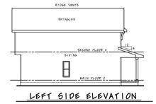 Architectural House Design - Farmhouse Exterior - Other Elevation Plan #20-2410