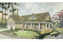 Craftsman Exterior - Front Elevation Plan #928-78