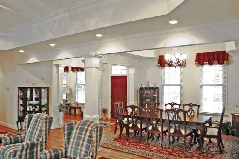 Country Interior - Dining Room Plan #314-230 - Houseplans.com