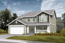 Craftsman Exterior - Front Elevation Plan #569-17