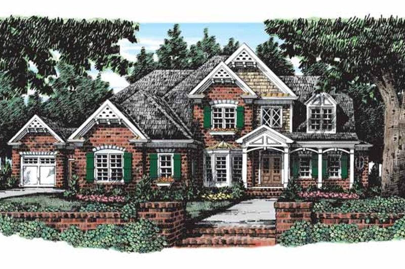 House Plan Design - Country Exterior - Front Elevation Plan #927-285