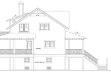 Home Plan - Mediterranean Exterior - Other Elevation Plan #991-17