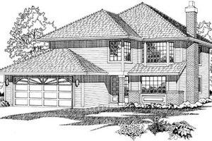 Traditional Exterior - Front Elevation Plan #47-524
