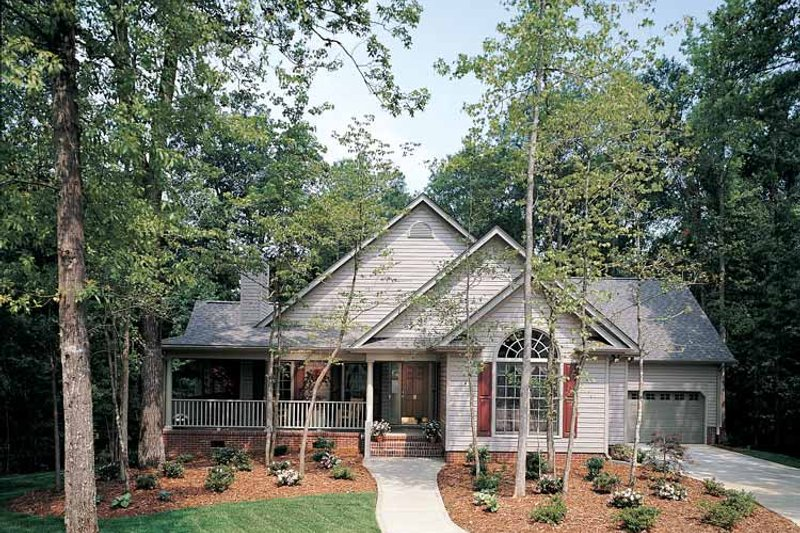 Country Exterior - Front Elevation Plan #929-242 - Houseplans.com