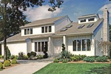 Contemporary Exterior - Front Elevation Plan #314-259